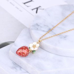 Kate Spade Perfect Strawberry Pendant Necklace
